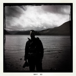 Leaving behind Loch Lomond.