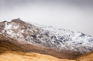 Nearly two months into spring and there is more snow for the hills above the West Highland Way.