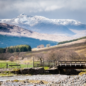 The sight of Stob Ghabhar means we are getting ever closer to Bridge of Orchy on the West Highland Way.
