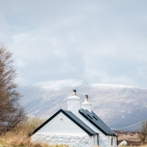 Sitting at the base of Buchaille Etive Mor and the head of Glen Coe, Blackrock Cottage is likely one of Scotland's most photographed buildings.