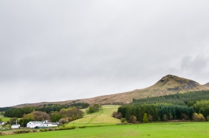 Glengoyne Distillery sits pretty as a picture at the base of Dumgoyne and right along the West Highland Way.