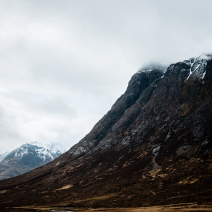 The Glencoe section of the West Highland Way is almost alien in its harsh beauty.
