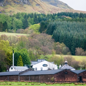 Situated as it is right on the West Highland Way, Glengoyne Distillery makes a perfect place to get off the trail, dry off for a bit, and enjoy a fine single malt whisky.