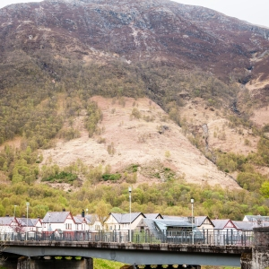 Kinlochleven, our destination for day 6 on the West Highland Way.
