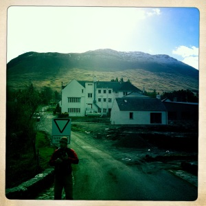 Photoshoot at the Bridge of Orchy.