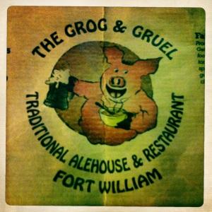 Brilliant pub grub.