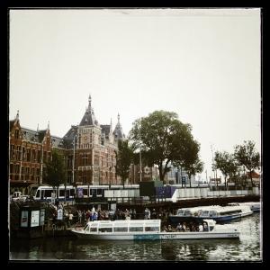 Central Station, Amsterdam.