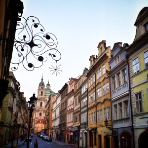 Prague has no shortage of beautiful architecture on display.