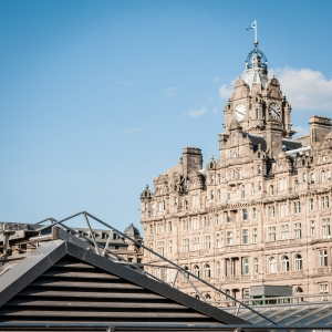 The Balmoral over Waverley.