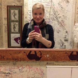 Elephant House toilet selfie. As you do.