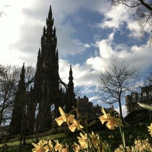 Sunshine? Flowers? Scotland? Yes!